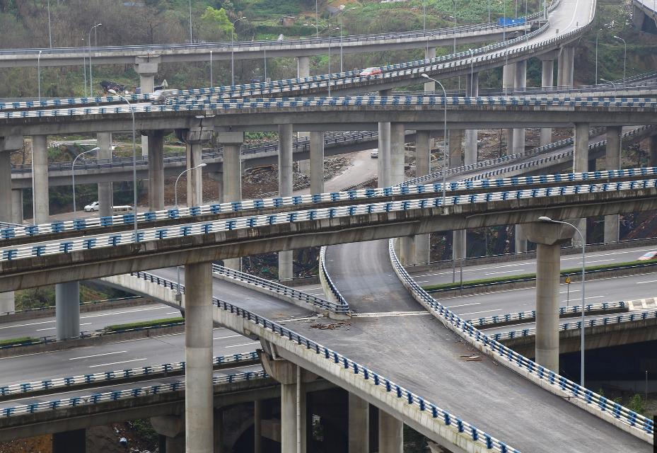 重庆最任性立交桥