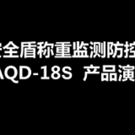 安全盾地磅防遥控AQD-18S产品操作演示视频